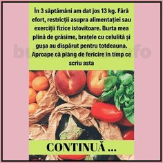 cura de slabire de 3 zile Metabolism, Vegetables, Mai, Food, Fitness Plan, Diet, Weight Loss Plans, Loosing Weight, Health And Beauty