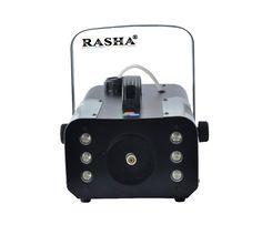 Rasha 6pcs*3W RGB 900W LED Fog Machine,LED Smoke Machine For Wedding Effects Event Party,DJ Club
