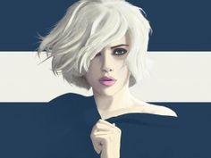 Scarlette Johansson art