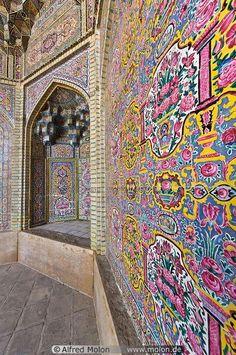 Decorated Walls, Iran, Mukarnas