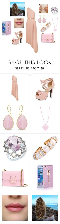 """""""Pink Day"""" by hrajbangsh ❤ liked on Polyvore featuring STELLA McCARTNEY, Ice, Lalique, Arya Esha, David Webb and Dolce&Gabbana"""
