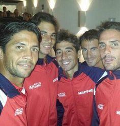 The Spanish Davis Cup team - September 2013