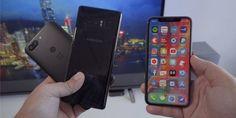 РесурсMacRumors сравнил Face ID на iPhone X и системы распознавания лица пользователя на Galaxy Phone, Samsung Galaxy, Iphone