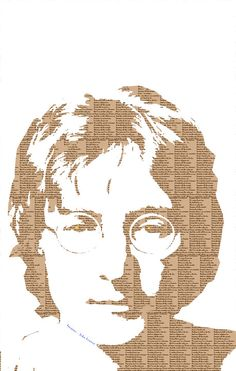 John Lennon by snippy graphics