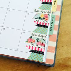 """260 Likes, 9 Comments - Erin Obwald (@color_and_spice) on Instagram: """"New spread for this week I added back in the washi again this week but I'm still loving the…"""""""