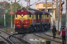 VSKP WDM-3A twins | Flickr - Photo Sharing!