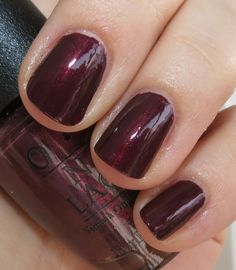 SLEIGH RIDE FOR TWO - OPI Mariah Carey 2013 Holiday Nail Polish Swatches