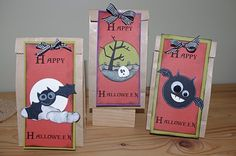 "Creative ""Try""als: Halloween Treat Bags"