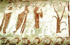 Småland, Myresjö: 9116617 (9116617.jpg). Motiv: Jesu intåg i Jerusalem. Foto: Lennart Karlsson