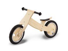 """Pinolino Holzlaufrad """"Lino"""" natur klar lackiert , 6-fach verstellbares Kinderlaufrad"""