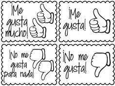 50 Best Spanish Class: Gustar, expressing likes, dislikes