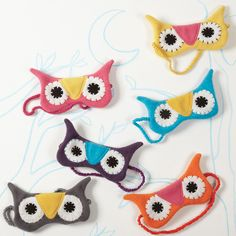 Night Owl sleeping mask - I could make this!
