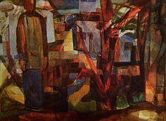 Feira de Santana ca. 1954 | Yolanda Mohalyi aquarela 68.50 x 98.00 cm