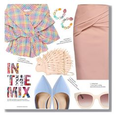"""""""In the Mix"""" by drigomes ❤ liked on Polyvore featuring Caroline Constas, WtR, Steve Madden, Ippolita and Kate Spade"""