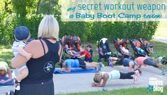 Baby Boot Camp is not just a workout routine, it's also a mom community.