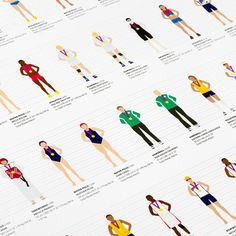 Graphic Designer seeks to illustrate every #female #Olympic gold medalist at Rio 2016 to promote #women's sporting capabilities.  #Empower #Inspire #Creative #Sport #Athletics #Equality