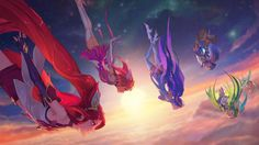 Four NEW Star Guardian skins! Jinx Poppy Janna and Lulu! https://youtu.be/I4DBvwhN86A #games #LeagueOfLegends #esports #lol #riot #Worlds #gaming
