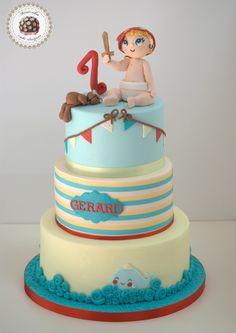 Baby Pirate cake