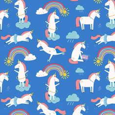 Unicorn Wrapping Paper (5 Sheets)