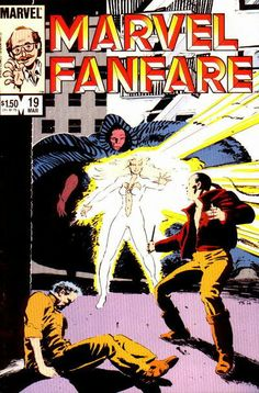Marvel Fanfare # 19 by Tony Salmons