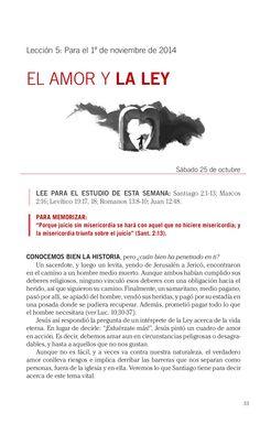 Leccion El amor y la ley by Escuela Sabatica via slideshare. #LESAdv Descargue aqui: http://gramadal.wordpress.com/