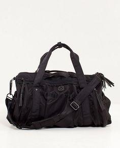 9632967393 weekend bag b  cody lululemonKeep On Running Duffel (purple or black )  Lululemon