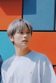 #nct #nct127 #youtubevideos #screenshots #nct127inusa #cute #aesthetic #haechan #wallpaper Taeyong, Nct 127, Johnny Seo, Jung Jaehyun, Latest Albums, Na Jaemin, Jisung Nct, Loving U, Videos Funny