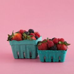 Bake It Pretty - Farmer's Market Berry Baskets - One Pint- $2.50/six
