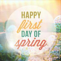Spring has finally arrived! Enjoy it!