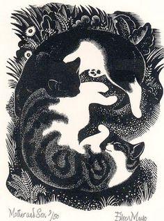 ilustración de Eileen Mayo
