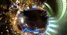 TOKYO DOME CITY, Bridge, 2013[LINK] Spherical Image | RICHO THETA https://theta360.com/s/7LA?view=embed