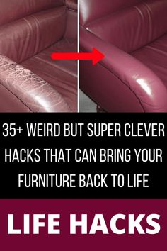 35+ Weird But Super Clever Hacks That Can Bring Your Furniture Back To Life Diy Crafts For Girls, Diy Crafts For Home Decor, Diy Arts And Crafts, Hacks Diy, Home Hacks, Cleaning Hacks, Diy Bedroom, Bedroom Ideas, Ab Circuit
