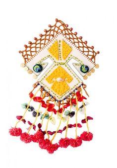 Keçe Nazarlık Handmade Felt Amulet