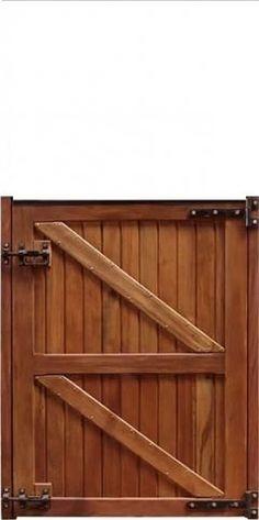 Meia Porta Baia - Peroba Outdoor Furniture, Outdoor Decor, Outdoor Storage, Wood, Crafts, Home Decor, Wood Gates, Half Doors, Horse Stalls