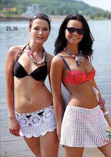 Ganchillo y HACER punto / ganchillo y de punto: Punto de moda y simple. Número Swimwear SP en junio de 2012