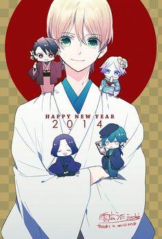 Camio, Dantalion, Kevin, Sitri & William | Makai Ouji: devils and realist | Anime & Manga