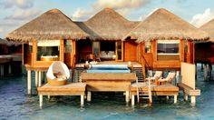 water bungalow, Maldives