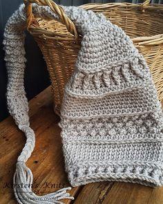 Ravelry: Dew Drops Elf Hat pattern by Kirsten Holloway $5