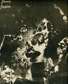 Janis Joplin by Charlotte Von Segesser, 1968 Joplin, juiced and jumping everywhere, crashed through vocal barriers, pushed, pulled, pulsed those daring to follow her into places few even knew existed. continues