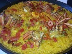 Arroz con bogavante que nos presenta el restaurante A Marina en Camariñas, A Coruña.