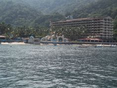 view of Barcelo Puerto Vallarta from the water
