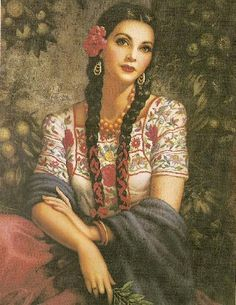 love discovering new artists, had the pleasure of learning about jesus helguera through jose lopez . Jesus Helguera, Mexican Paintings, Latino Art, Arte Do Kawaii, Mexico Culture, Chicano Art, Mexican Art, Mexican Stuff, Renaissance Art