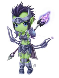 chibi orc world of warcraft | Tag: WOW, Character Illustration, SleepingFox, Vivid, Pictures, Latest ...