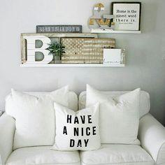 Ikea picture ledge shelf decor