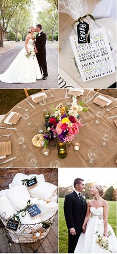 Love almost everything about this wedding.