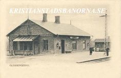 glemmingebro station vykort fran 1903 Postcards, Cabin, House Styles, Home Decor, Decoration Home, Room Decor, Cabins, Cottage, Home Interior Design