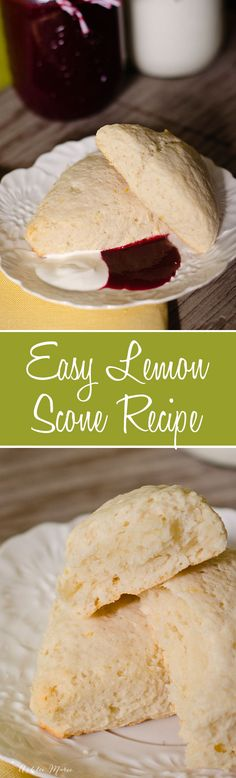 easy to make and oh so delicious, lemon scones.  seriously these make the house smell divine and the flavor and texture are so good, serve with coulis and Creme Fraiche a copycat recipe from epcot at disneyworld