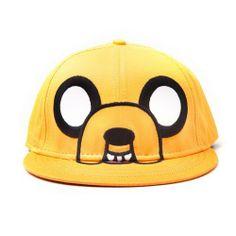 Lleva contigo a todos lados esta genial gorra de Jake de Hora de Aventuras.