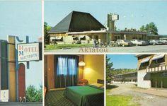 Hotel Motel au Québec. Chez Marineau, Mattawin.