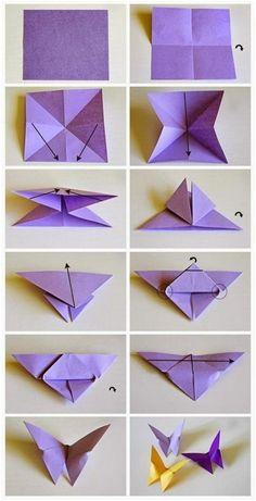 Origami Design, Instruções Origami, Paper Crafts Origami, Diy Paper, Paper Crafting, Origami Ideas, Origami Gifts, Origami Wall Art, Cute Origami